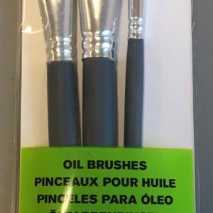 W&N Olie penselsæt - Flade - Str. 4-10-14