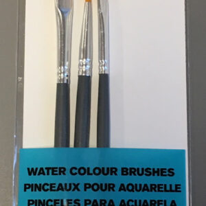W&N Akvarel penselsæt - Runde - Str. 3 & Flad str. 1-2
