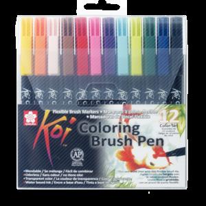 Koi Color Brush Set 12