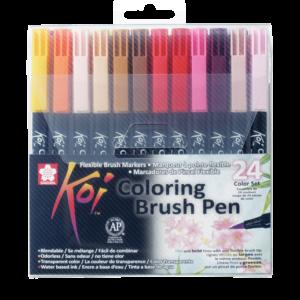 Koi Color Brush Set 24