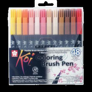 Koi Color Brush Set 48