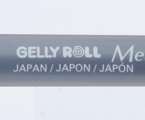 Gelly Rool Metallic Pen Black
