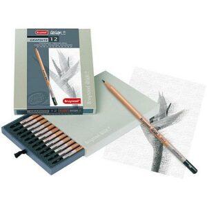 Bruynzeel Design Graphite Pencils 12 stk