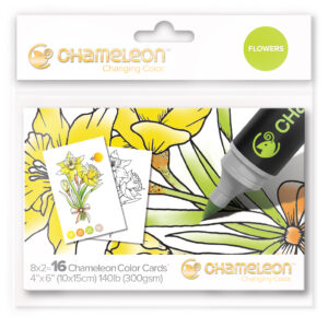 Chameleon Flowers Color Cards
