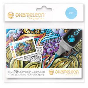 Chameleon Zen Color Cards