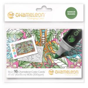 Chameleon Mirror Images Color Cards