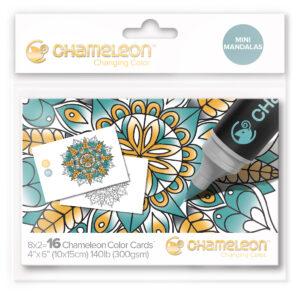 Chameleon Mini Mandalas Color Cards