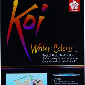 Koi Water Colors Sketch Box 48